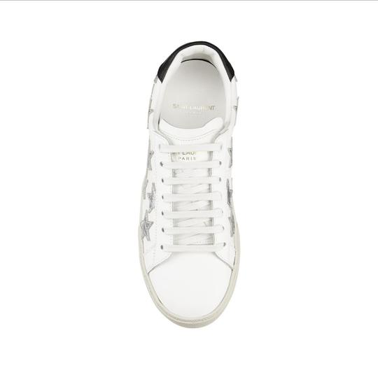 Saint Laurent White Athletic Image 3