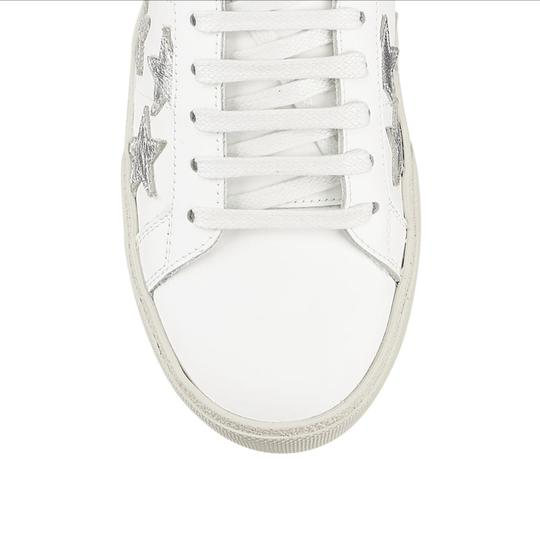 Saint Laurent White Athletic Image 4