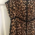 animal print with black piping Maxi Dress by Nanushka Image 2