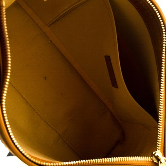 Louis Vuitton Leather Canvas Tote in Beige Image 9