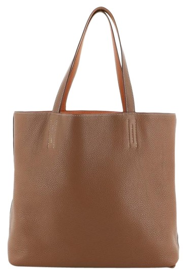 Preload https://img-static.tradesy.com/item/26667782/hermes-double-sens-clemence-45-gold-and-orange-leather-tote-0-1-540-540.jpg