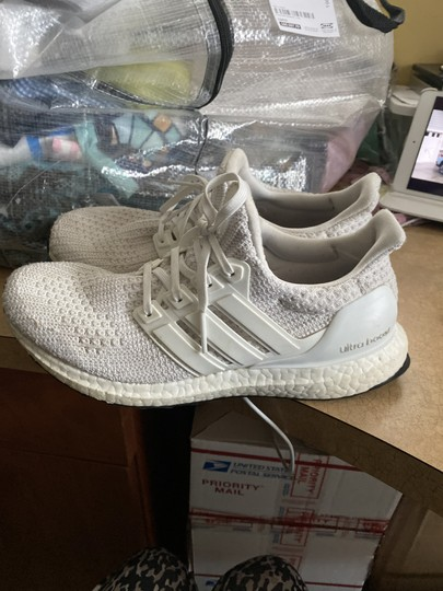 Adidas Ultra Boots Fabric Sneakers Sneakers White Athletic Image 4