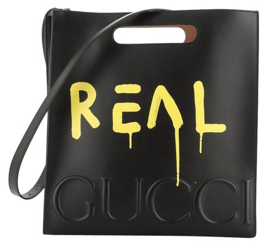 Preload https://img-static.tradesy.com/item/26667792/gucci-guccighost-medium-black-leather-tote-0-1-540-540.jpg
