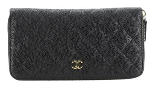 Preload https://img-static.tradesy.com/item/26667830/chanel-zip-around-wallet-quilted-long-black-caviar-wristlet-0-1-540-540.jpg