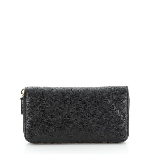 Chanel Wallet Leather Wristlet in black Image 3