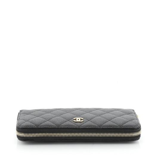 Chanel Wallet Leather Wristlet in black Image 4