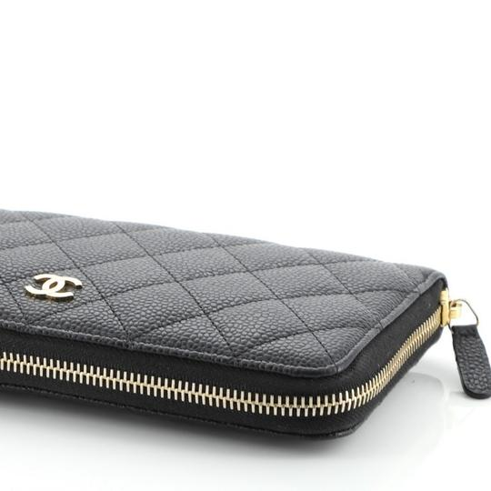 Chanel Wallet Leather Wristlet in black Image 5