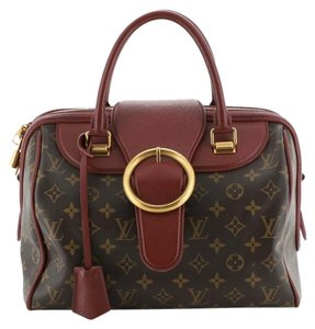 Louis Vuitton Canvas Tote in red