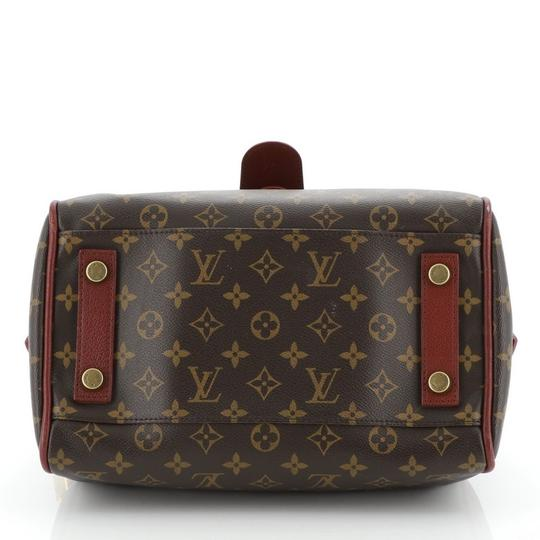 Louis Vuitton Canvas Tote in red Image 3
