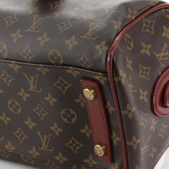 Louis Vuitton Canvas Tote in red Image 5