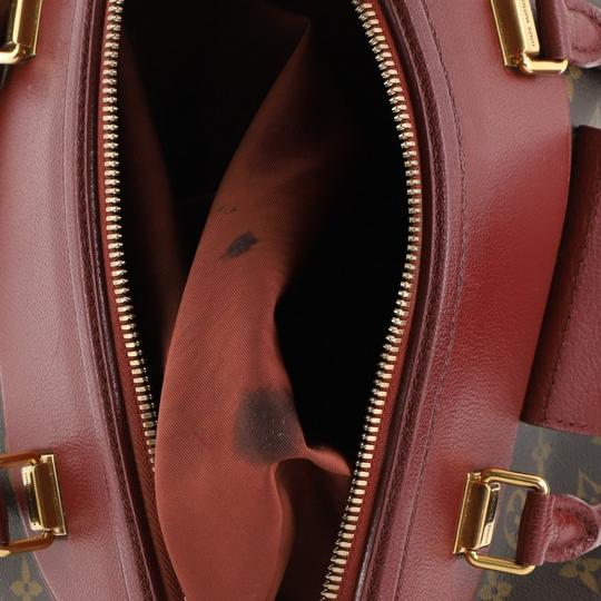Louis Vuitton Canvas Tote in red Image 6
