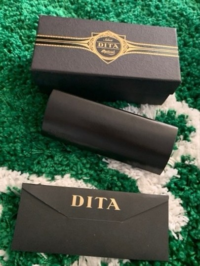 Dita Brand New Authentic Dita Sunglasses Stateside DRX-2066-A-T-BLK-GLD 48mm Frame Image 7
