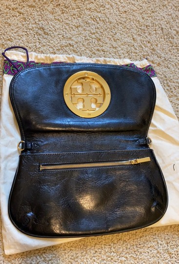 Tory Burch black/with gold Clutch Image 7