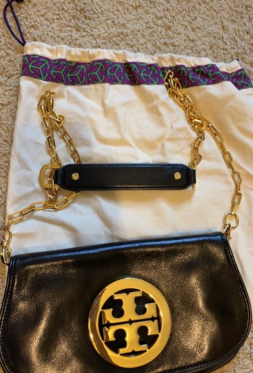 Tory Burch black/with gold Clutch Image 8
