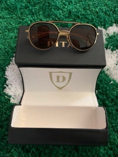 Dita Dita Spacecraft 19017 Matte BLK/GLD Titanium Sunglasses 100% Authentic 52mm $525 Image 1