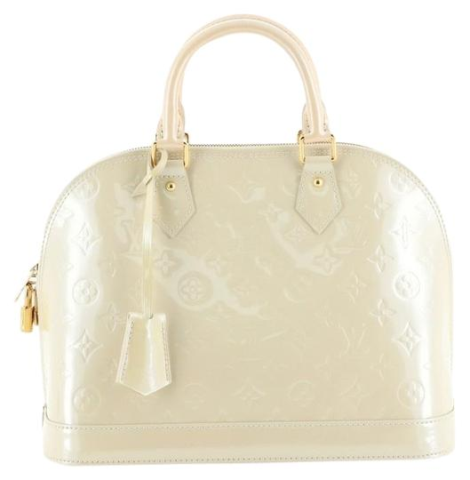 Preload https://img-static.tradesy.com/item/26667896/louis-vuitton-alma-handbag-monogram-vernis-pm-neutral-leather-satchel-0-1-540-540.jpg