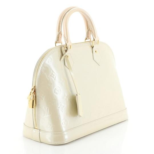 Louis Vuitton Alma Leather Satchel in neutral Image 1