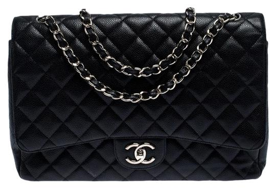Preload https://img-static.tradesy.com/item/26667900/chanel-classic-flap-quilted-caviar-maxi-classic-double-black-leather-shoulder-bag-0-2-540-540.jpg