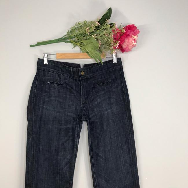 Citizens of Humanity Trouser/Wide Leg Jeans-Dark Rinse Image 1