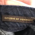 Citizens of Humanity Trouser/Wide Leg Jeans-Dark Rinse Image 3