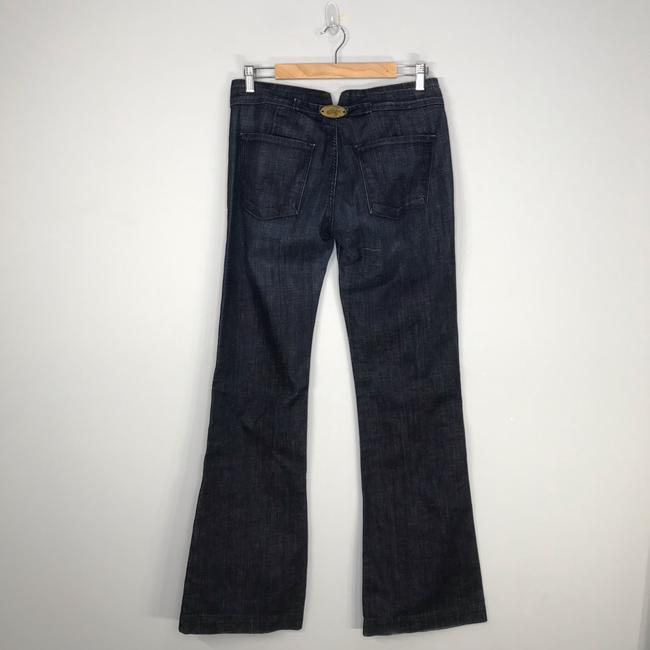 Citizens of Humanity Trouser/Wide Leg Jeans-Dark Rinse Image 7