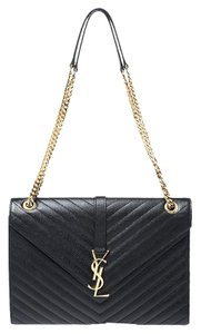 Saint Laurent Leather Shoulder Bag