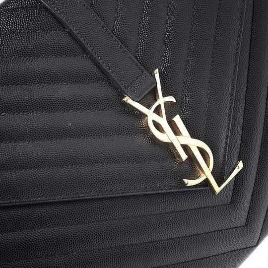 Saint Laurent Leather Shoulder Bag Image 8