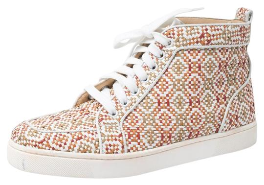 Preload https://img-static.tradesy.com/item/26667967/christian-louboutin-multicolor-woven-leather-rantus-orlato-high-top-39-sneakers-size-us-85-regular-m-0-1-540-540.jpg