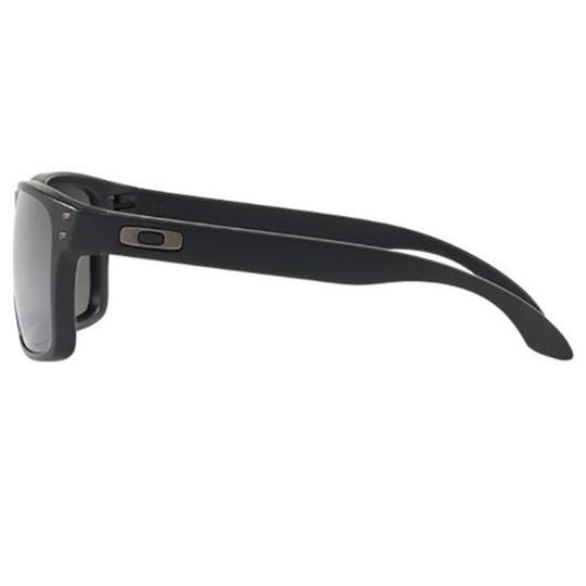 Oakley Black Polarized/Mirrored Lens OO9244 25 Unisex Square Sunglasses Image 2