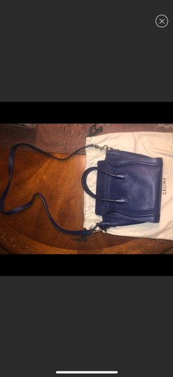 Céline Tote in blue Image 4