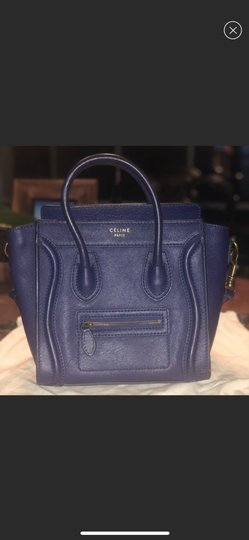 Céline Tote in blue Image 5