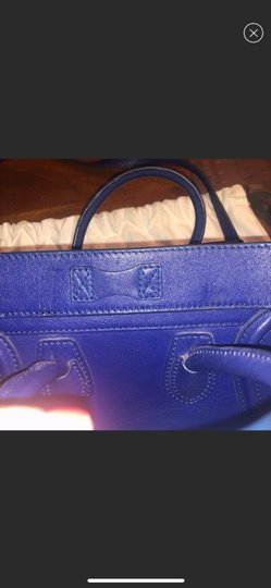 Céline Tote in blue Image 6