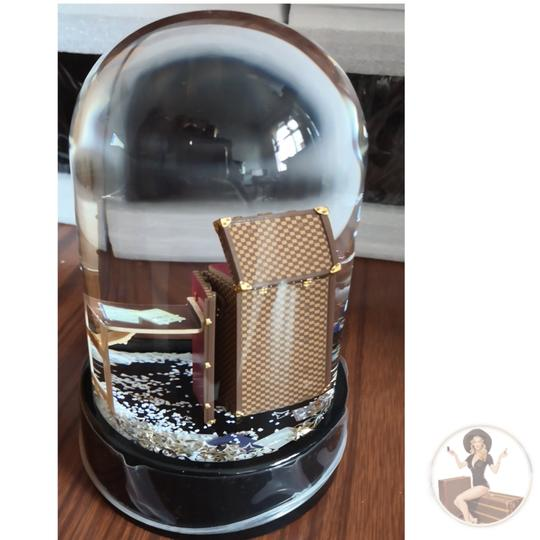 Louis Vuitton Louis Vuitton VIP Damier Steamer Bag/Trunk Snow Globe *new in box* Image 3