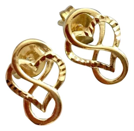 Other Real Saudi Gold 18K INTRICATE Earrings Image 0