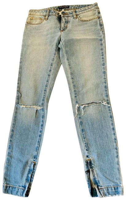 Preload https://img-static.tradesy.com/item/26668039/dolce-and-gabbana-light-blue-with-light-wash-pretty-skinny-jeans-size-2-xs-26-0-1-650-650.jpg