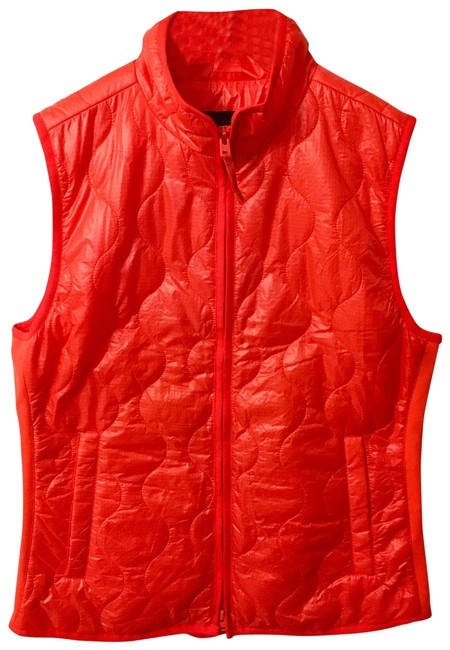 Item - Vermilion Orange Lightweight Puffer Vest Size 6 (S)