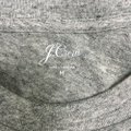 J.Crew Sequin Bling Graphic Happy Hour T Shirt Grey Image 4