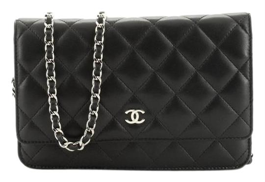 Preload https://img-static.tradesy.com/item/26668062/chanel-wallet-on-chain-quilted-lambskin-black-leather-cross-body-bag-0-1-540-540.jpg