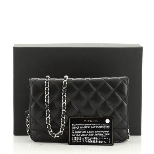 Chanel Wallet Leather Cross Body Bag Image 1