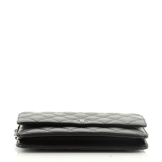 Chanel Wallet Leather Cross Body Bag Image 3