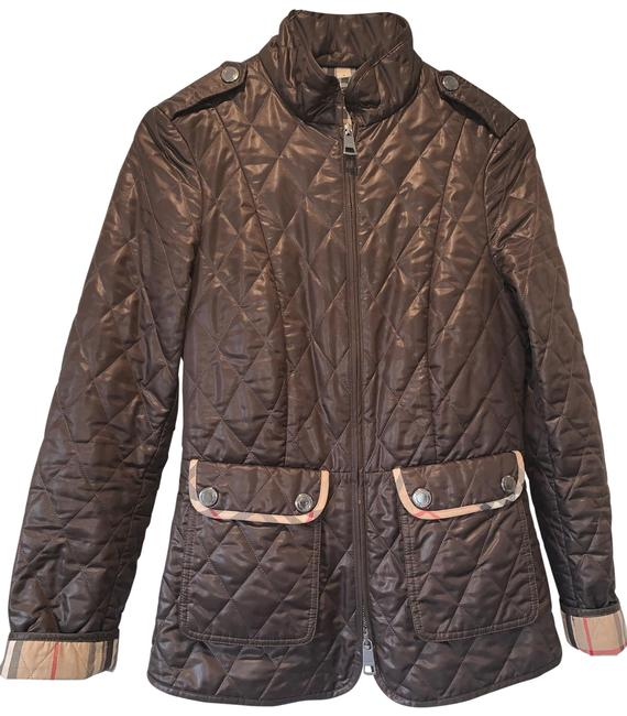 Preload https://img-static.tradesy.com/item/26668089/burberry-brit-brown-jacket-size-4-s-0-1-650-650.jpg