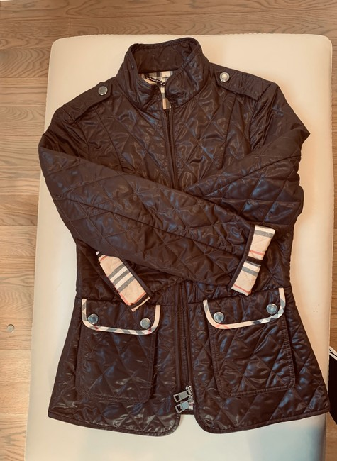 Burberry Brit Brown Jacket Image 1