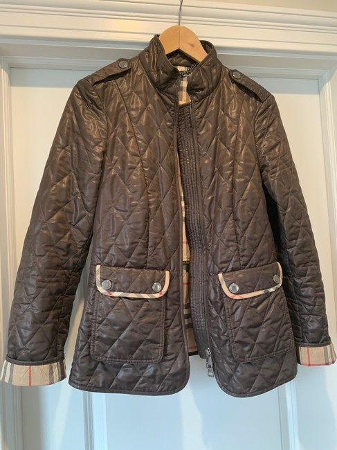Burberry Brit Brown Jacket Image 2