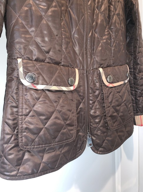Burberry Brit Brown Jacket Image 5