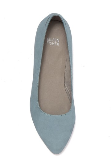 Eileen Fisher Sky Blue Flats Image 1