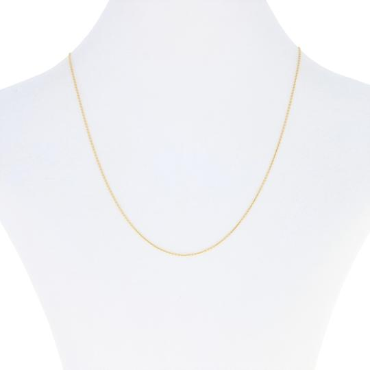 Preload https://img-static.tradesy.com/item/26668133/yellow-new-cable-chain-16-14k-gold-lobster-claw-clasp-e0049-necklace-0-1-540-540.jpg