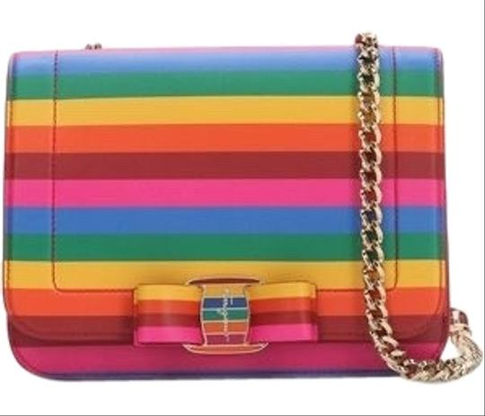 Preload https://img-static.tradesy.com/item/26668137/salvatore-ferragamo-crossbody-vara-rainbow-multicolor-leather-shoulder-bag-0-2-540-540.jpg