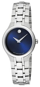 Movado MOVADO Women's Blue Dial Stainless Steel Watch 0606370