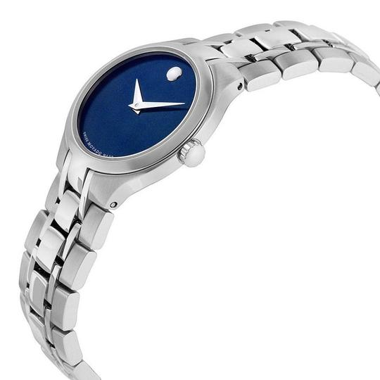 Movado MOVADO Women's Blue Dial Stainless Steel Watch 0606370 Image 1