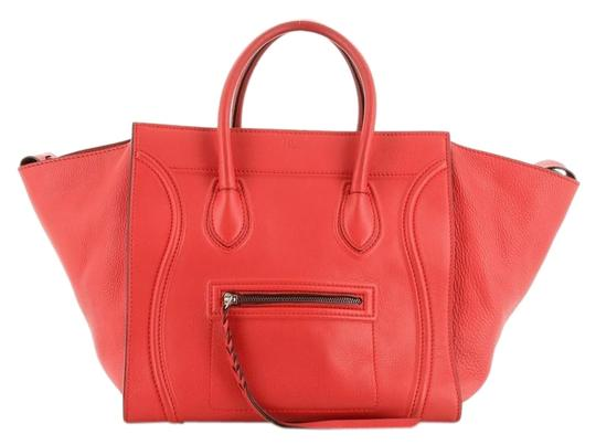 Preload https://img-static.tradesy.com/item/26668180/celine-cabas-phantom-grainy-medium-red-leather-tote-0-1-540-540.jpg